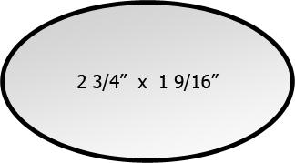 Badge sizes shaped name badges tags no setup fees shaped shapes badge sizes pronofoot35fo Images