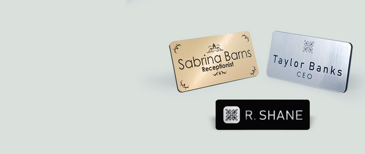 NEW Engraved Name Badges! | www.namebadgesinternational.us