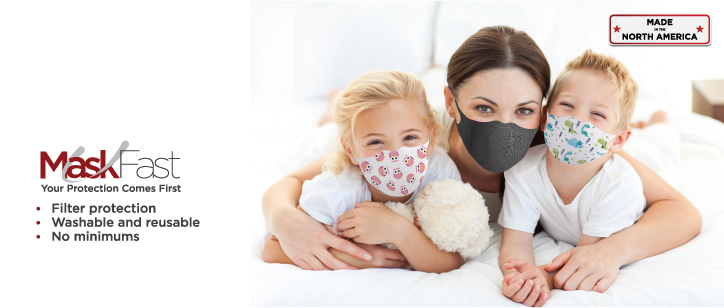 Comfortable Face Masks | www.namebadgesinternational.us